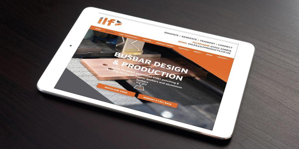 ILF Ltd - Website design and build