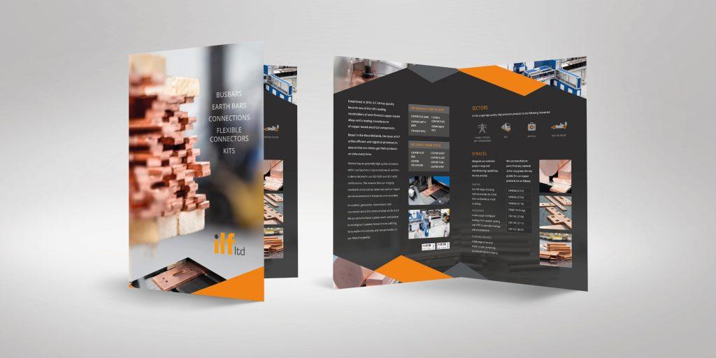 ILF Ltd - Brochure Design